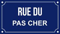 Rue du pas cher